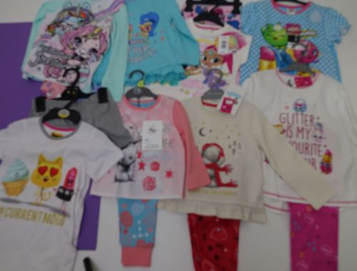 New Product 45 assorted x store  pyjamas just £3.00 each girls