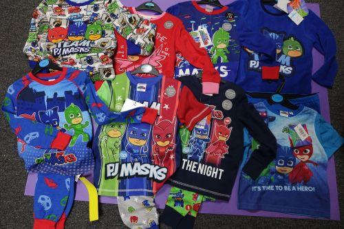New Product 35 boys x store pjmasks pyjamas just £3.25 each