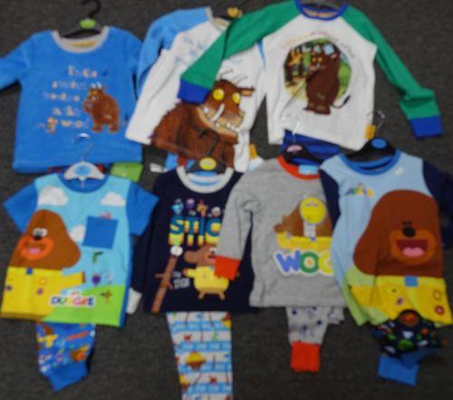 New Product 24 hey duggee and gruffalo x store pyjamas just £3.25 each