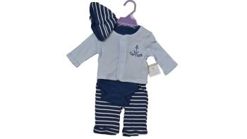 10 little wonders baby 4 piece sets hat body, vest, jacket and leggings just £3.25 each. 2SY7615