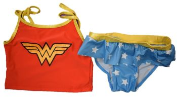 12 girls x store wonder woman dc comics tankini swim suits just £2.25 each