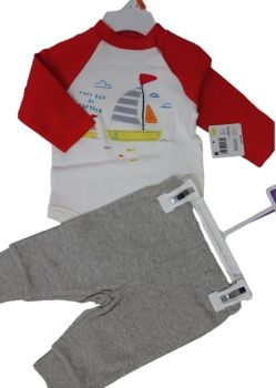 8 little wonders baby 2 piece sets body vest and jog pant just £2.65 each  IN4LQ