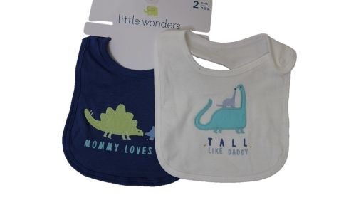 10 little wonders store babies 2 pack bibs just £1.30 each pack