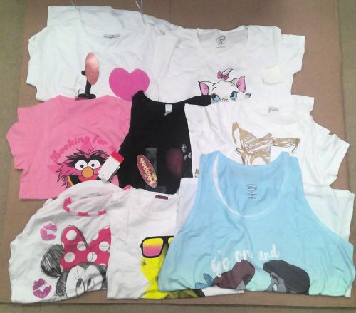 20 assorted ex store ladies T shirts