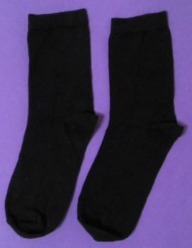 12 Pairs Boys/Girls Navy Ankle Sock Size 12-3 only 30p