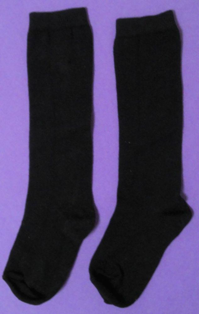 12 Boys/Girls Navy Knee High Sock Size 4-6½ only 30p