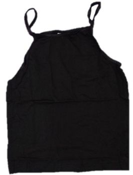 12 Girl's 3 Pack Ex Store Black Camisole Vests £1.25 a pack RATIO 3,5,4.