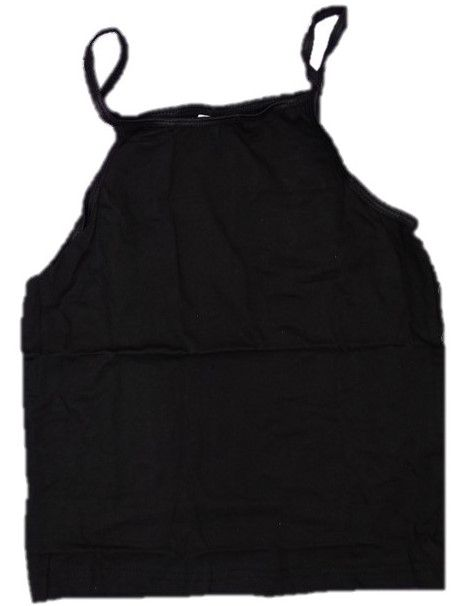 12 Girl's 3 Pack Ex Store Black Camisole Vests £1.20 a pack