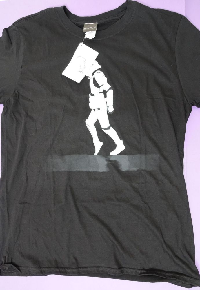 New Product 12 mens star wars storm trooper t shirts just £3.00 each