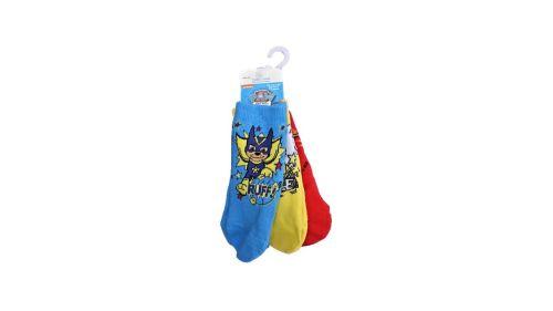 12 Paw Patrol 3 Pack Socks