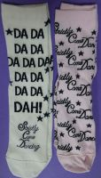 New Product 100 assorted strictly come dancing socks just 30p each slight seconds
