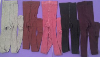 50 Girls Nex Store Tights - 5 Colours 13-14 years  50p