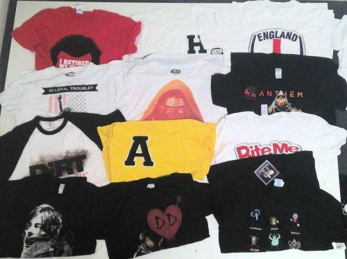 44 Mens T Shirts 60p