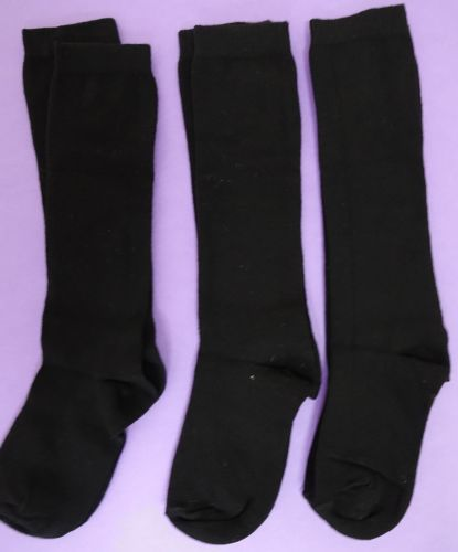New Product 50 black unisex x store knee high good for school socks just 30