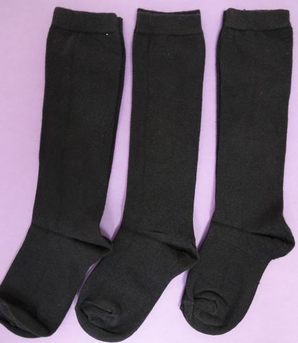 New Product 50 blue unisex x store knee high good for school socks just 30p