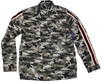 13 Ex Store Green Camouflage Print Jackets