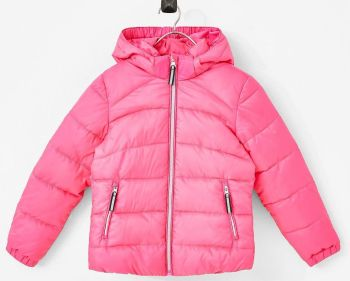 12 Ex Store Padded Plain Pink Jackets
