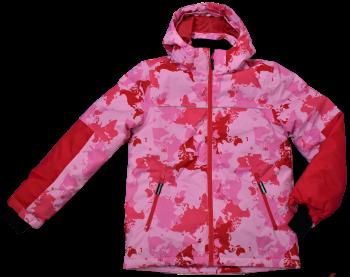 12 Ex Store Padded Printed Pink Ski Jackets