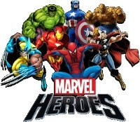DC Comics, Super Heroes & Marvel Heroes
