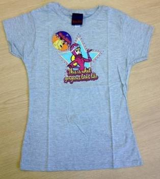 5 Ladies One Size Wacky Races Penelope Pitstop T Shirts