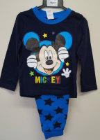 12 boys ex store blue mickey mouse pyjamas £3.25 each - Dinshaw Wholesale on SellerHub
