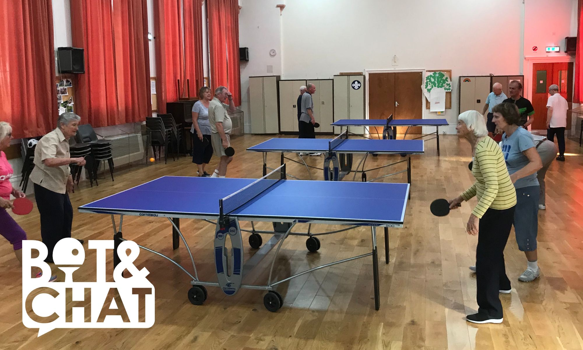 St. Cuthbert's Church Hall, Table Tennis