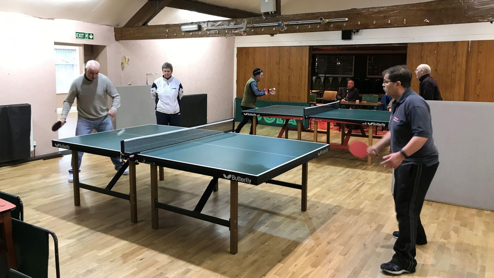 Lytham Catholic Club, Table Tennis