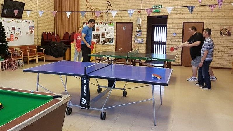 Victoria Community Church , Table Tennis