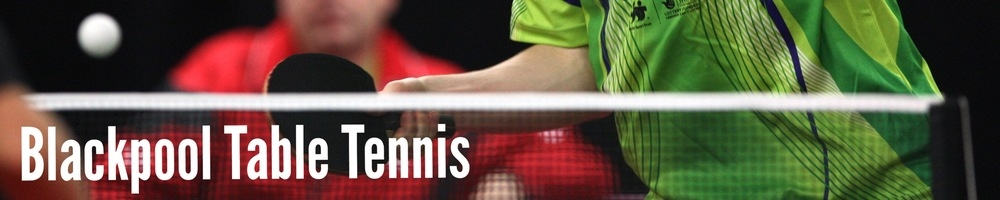 Blackpool & District Table Tennis League, site logo.