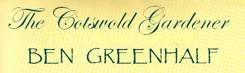 The Cotswold Gardener, site logo.