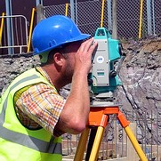 Setting out using a total station theodolite