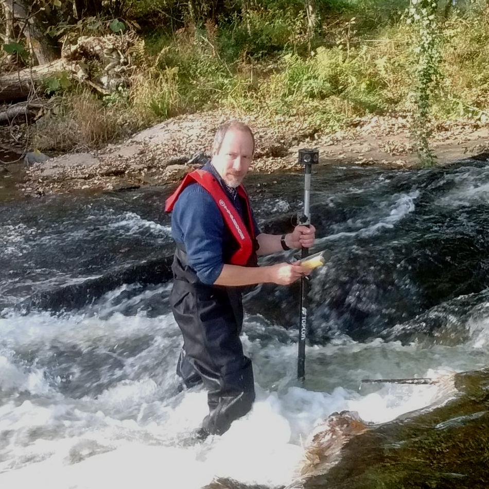 River survey in Devon