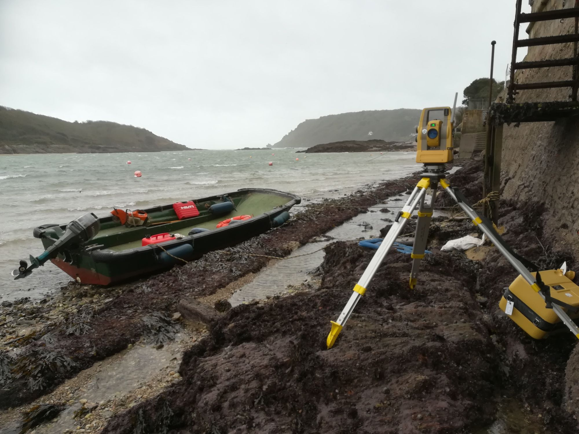 Site Engineering, Salcombe, Devon