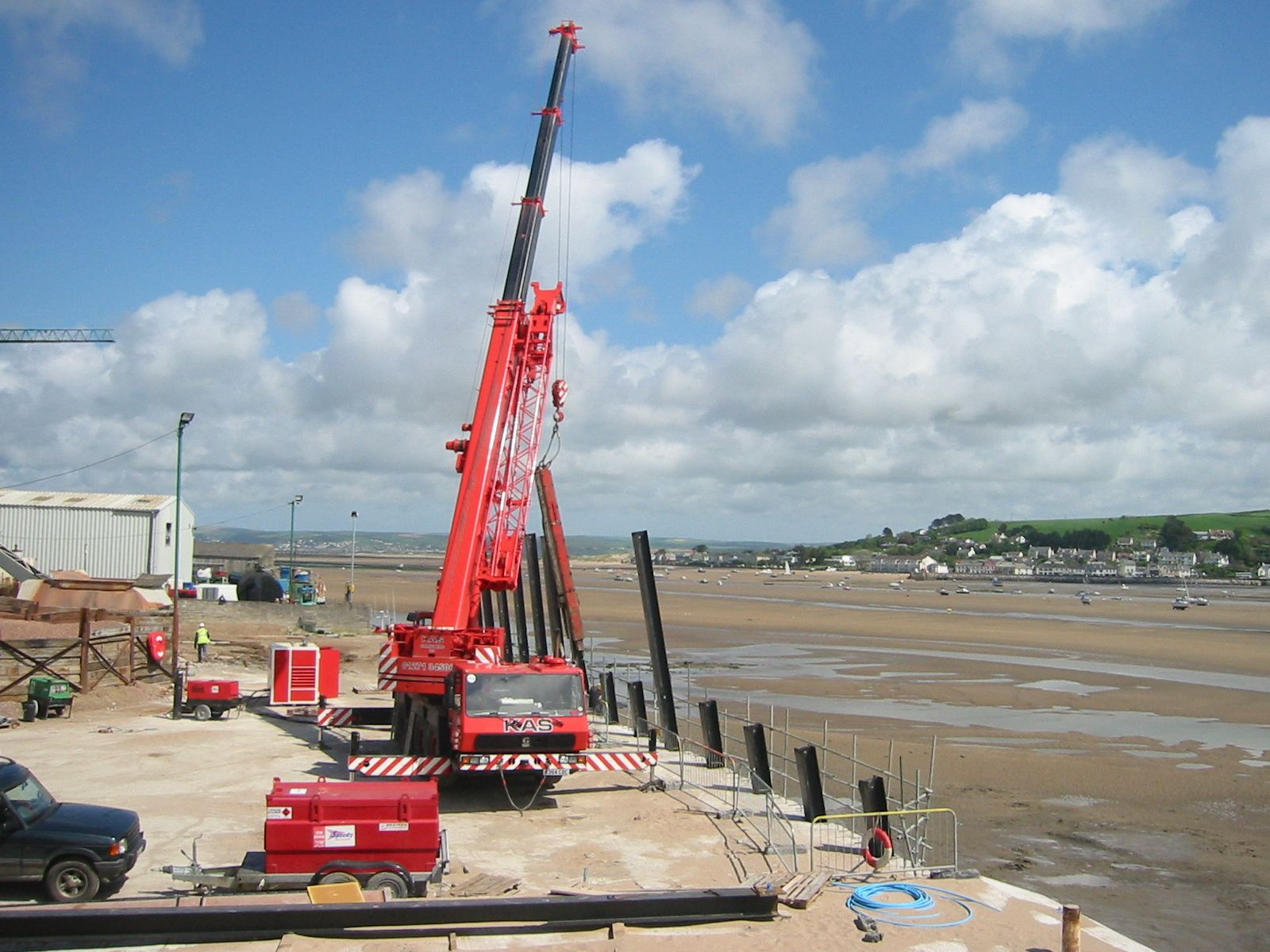 Site Engineering, Appledore, Devon