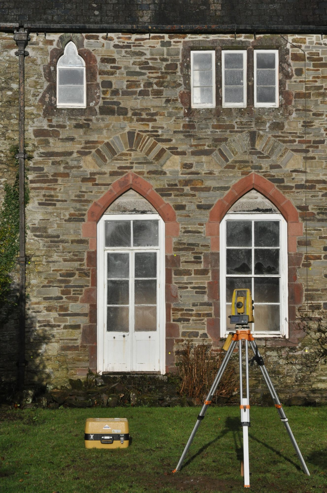 Grade 2* listed house elevation in Cornwall