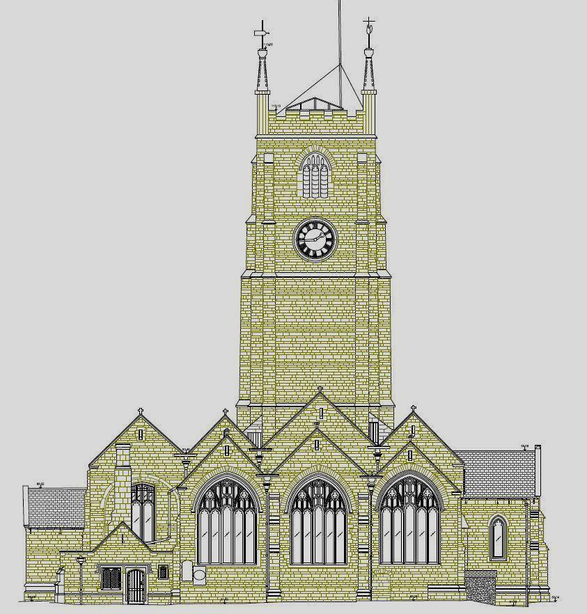 Church survey in Devon
