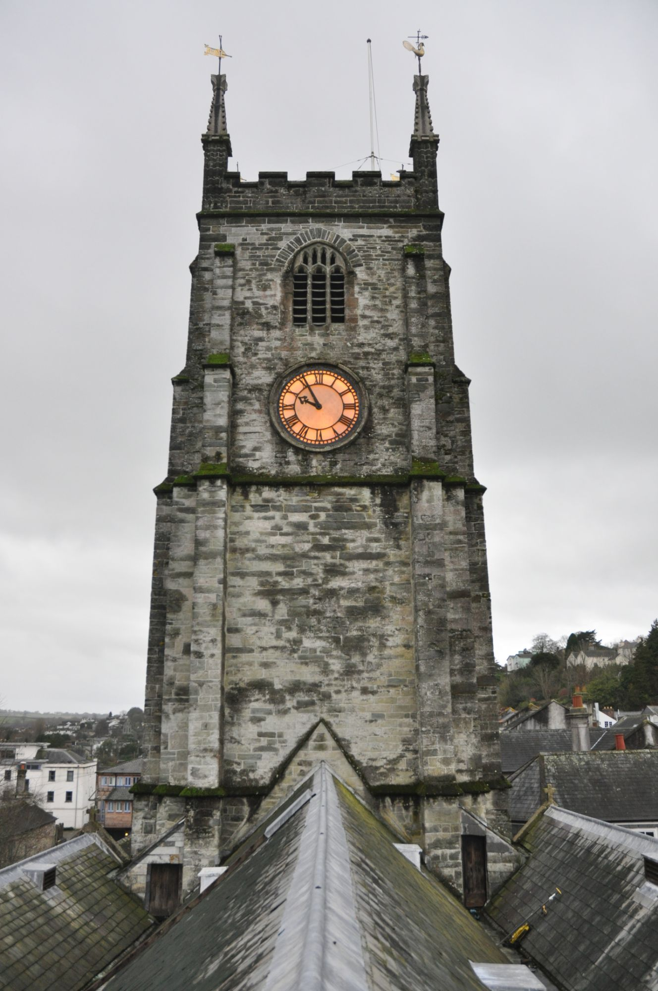 Measured survey of church in Devon