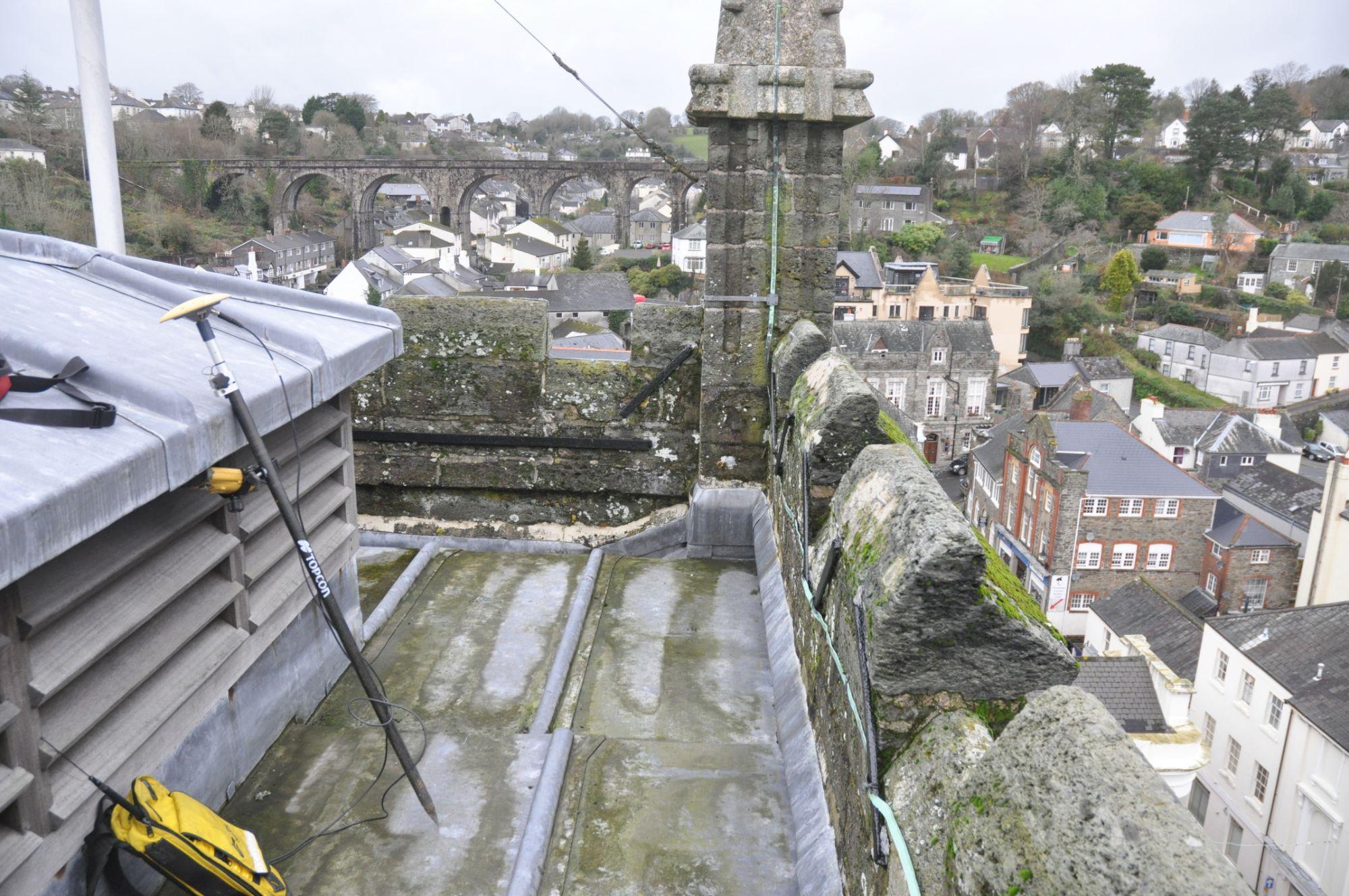 Church Roof Survey, Tavistock