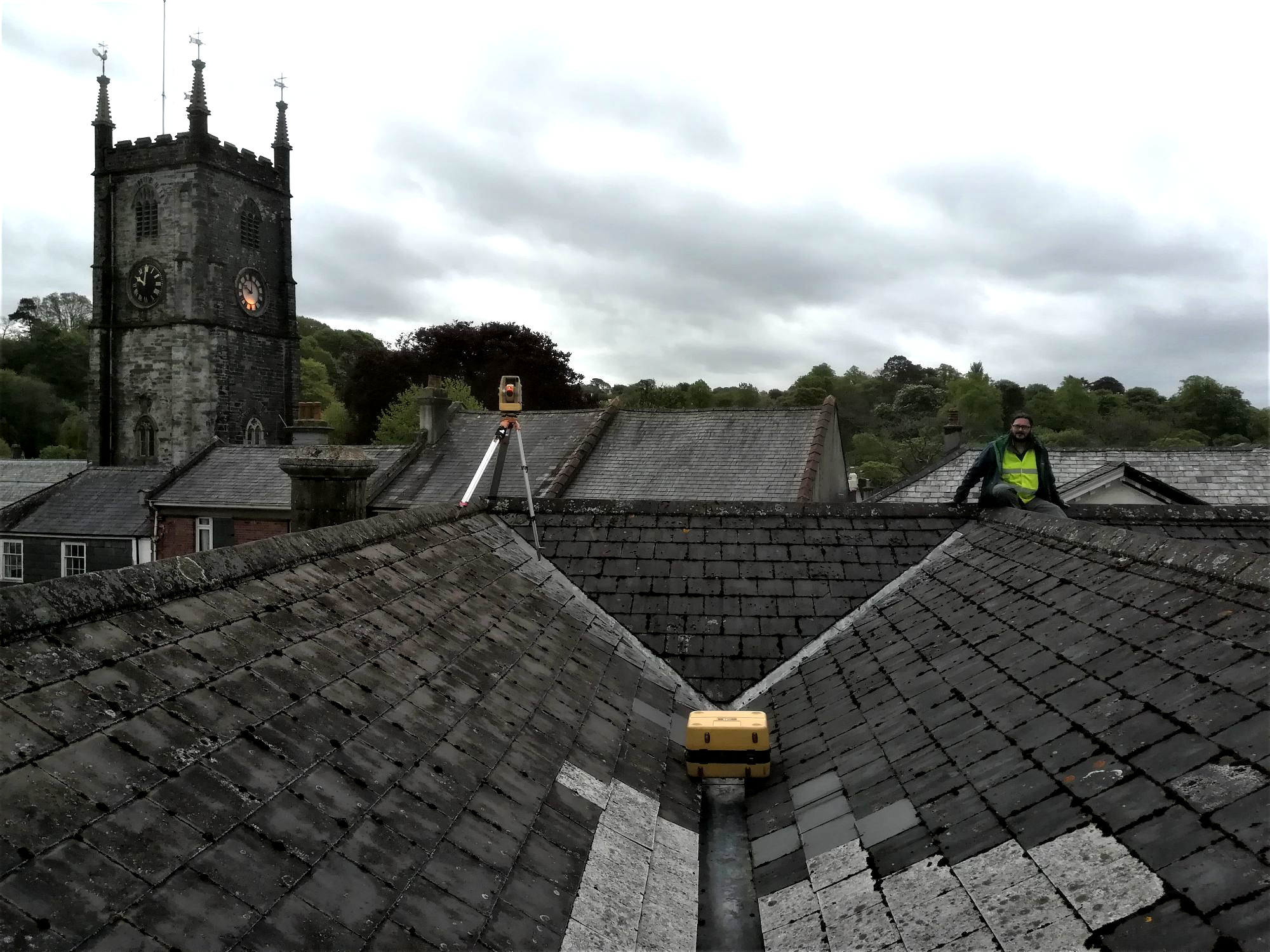 Roof surveys in Cornwall and Devon