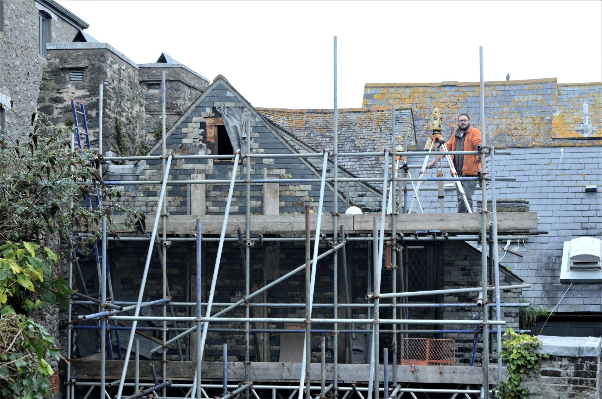 Refurbishment of historic building in Plymouth