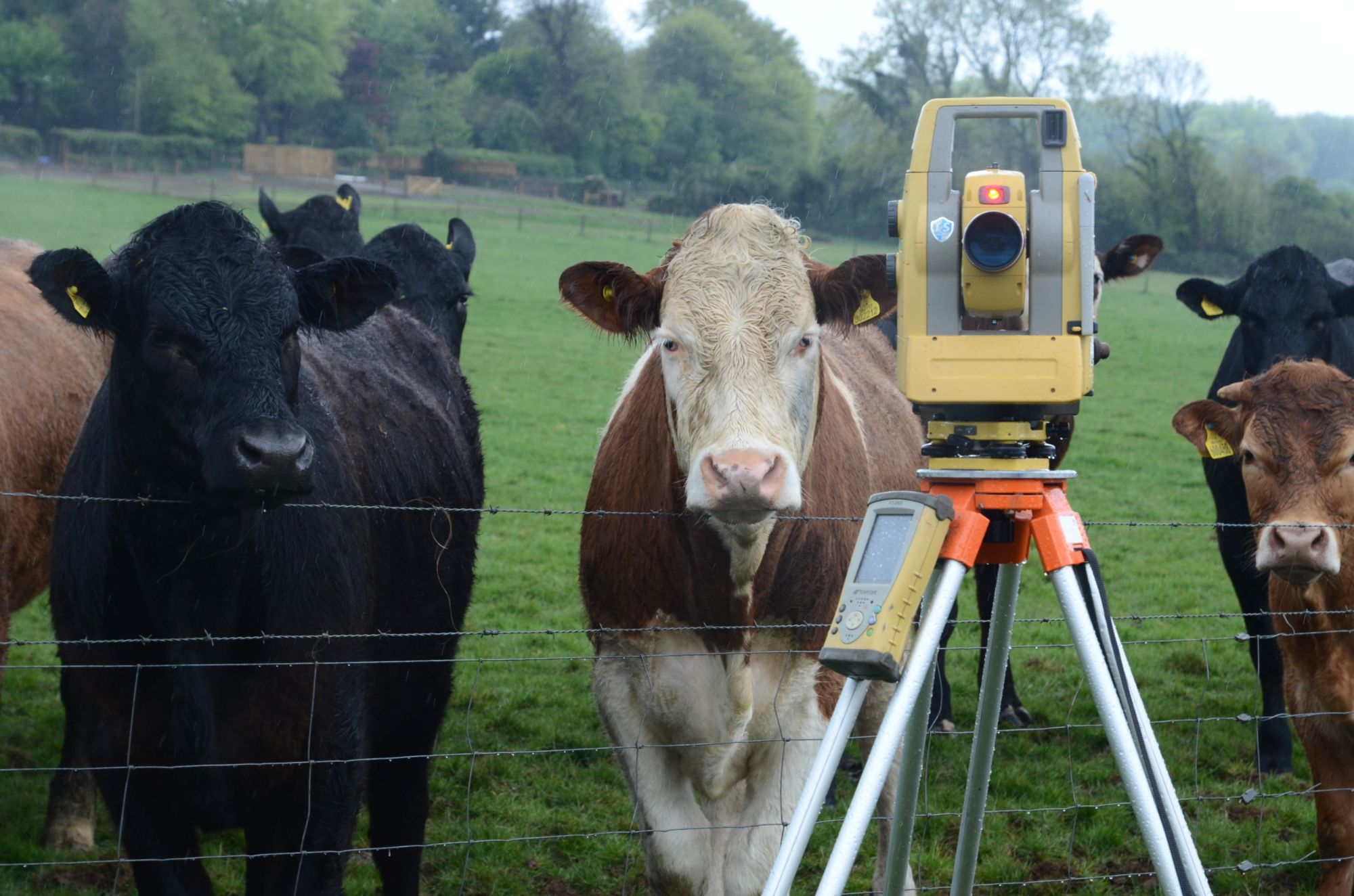 Land surveying in Devon
