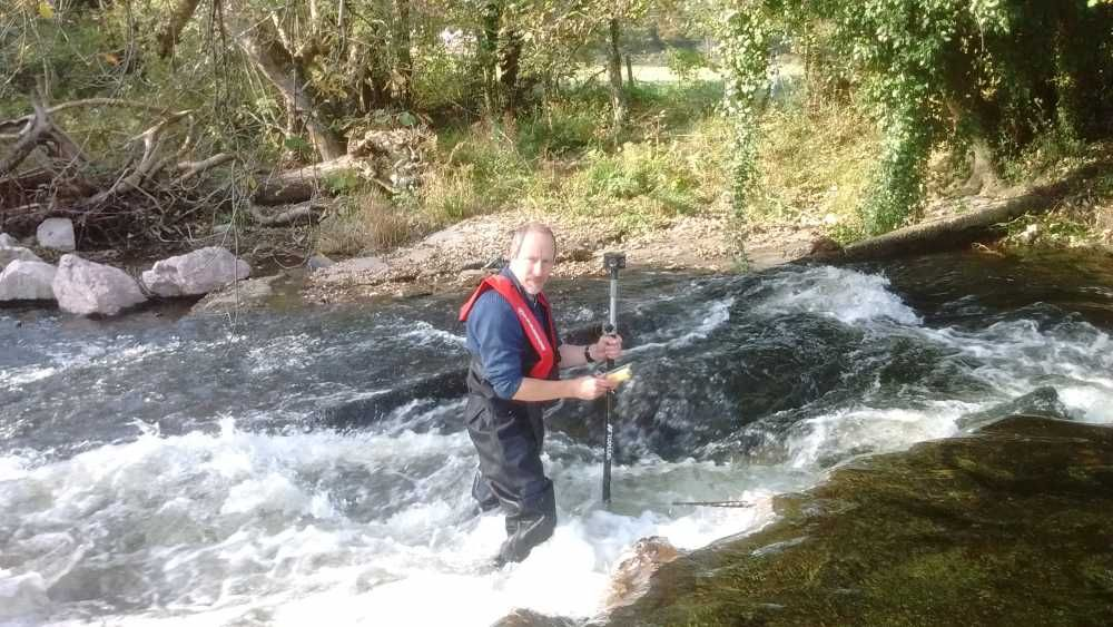River survey in Cornwall & Devon