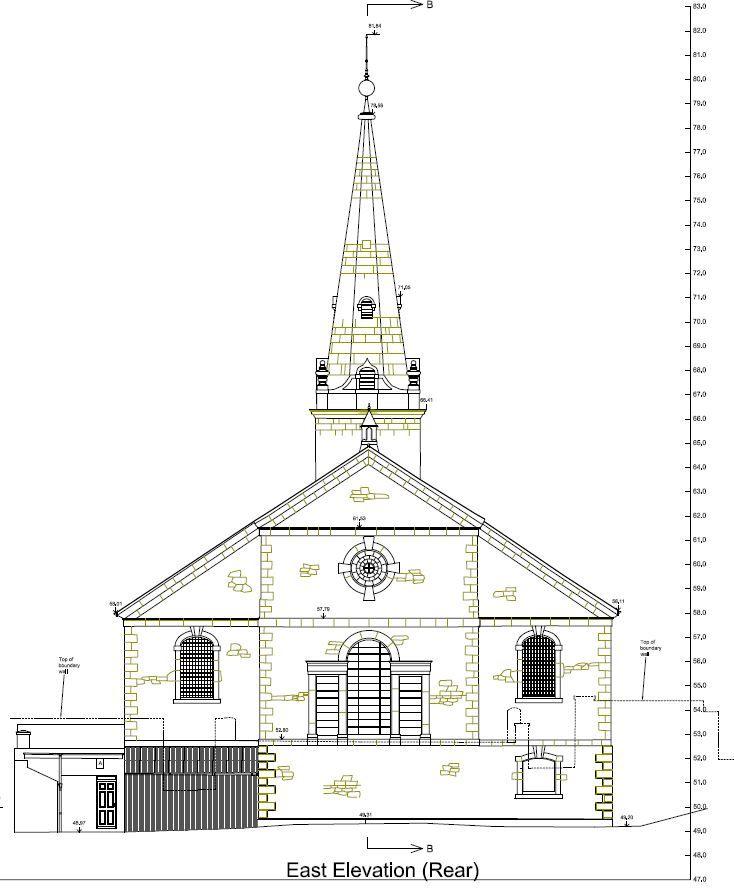 St Aubyn's Church rear elevation