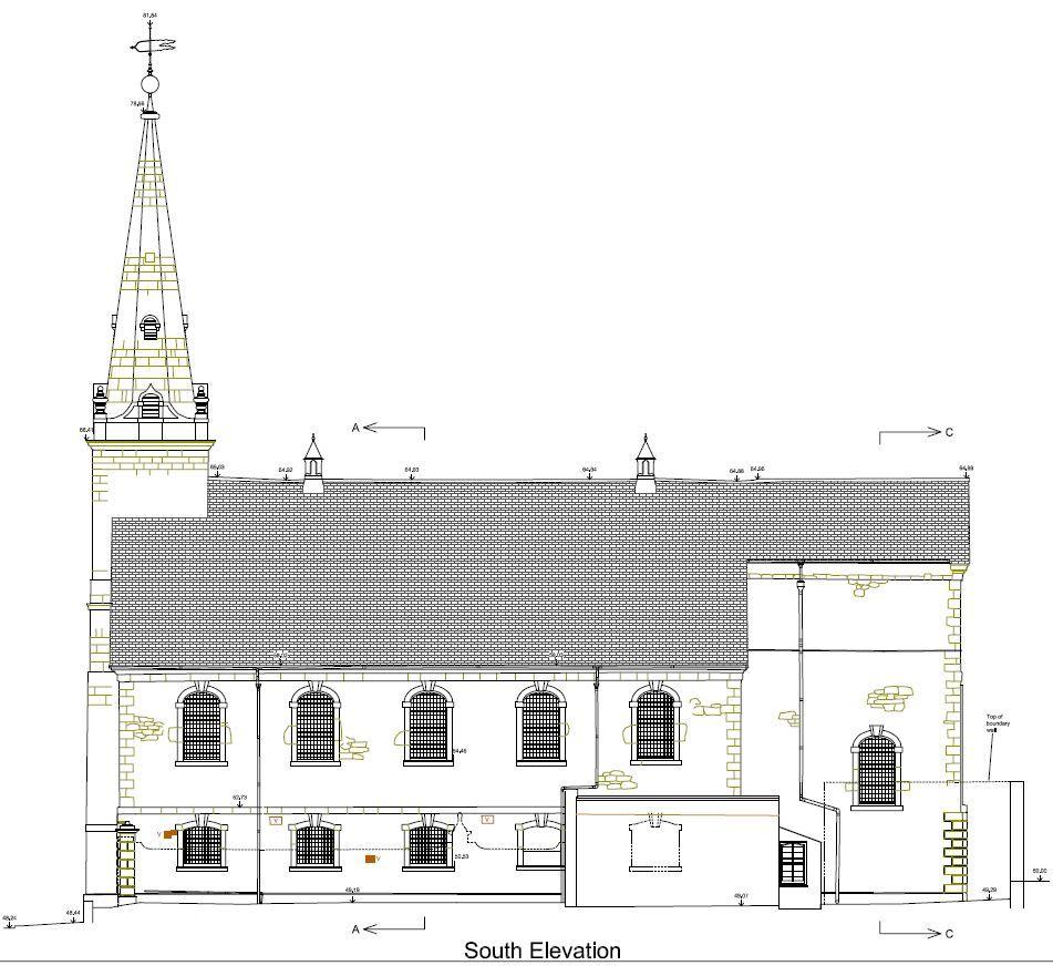 Measured Church Survey in Plymouth, Devon