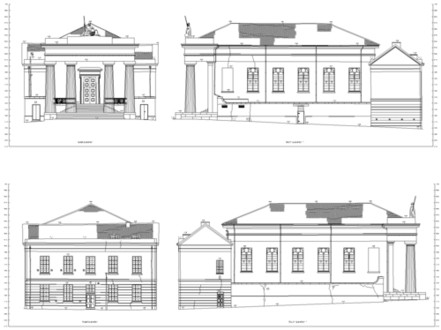 Guildhall Elevations