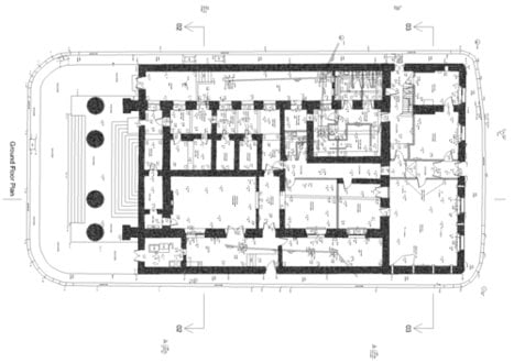 Guildhall Ground floor Plan