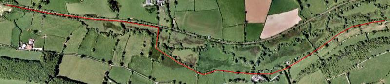 Newmills Aerial Photo