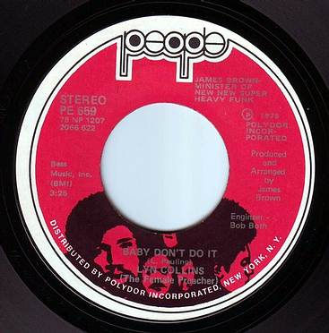LYN COLLINS - BABY DON'T DO IT - PEOPLE