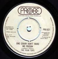 FOUR TOPS - ONE CHAIN DON'T MAKE NO PRISON - PROBE