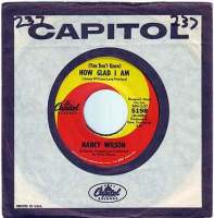 NANCY WILSON - (You Don't Know) HOW GLAD I AM - CAPITOL